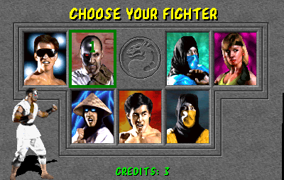 Mortal Kombat In Game