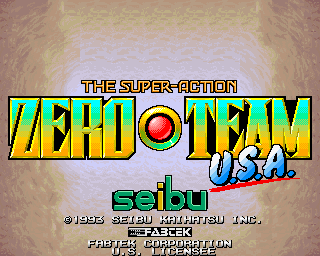 Zero Team title screen